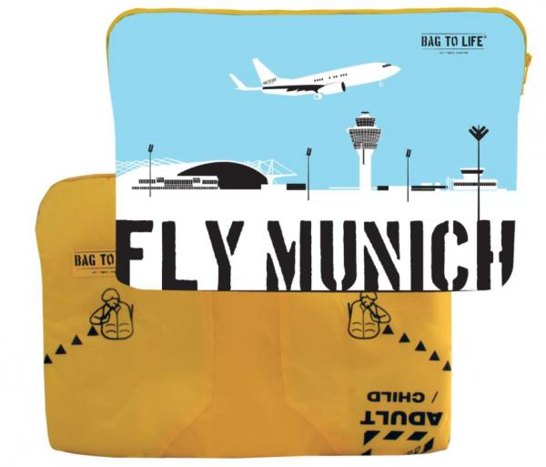 Laptop Sleeve Fly Munich