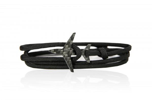 JET8R Armband Jet Black