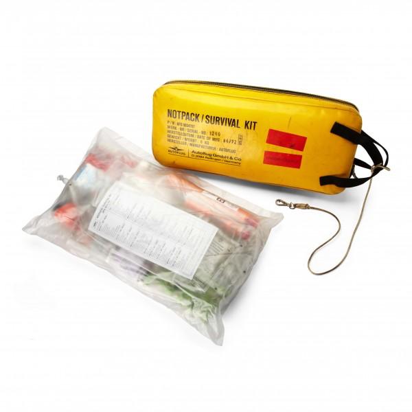 Notfalltasche Survival Kit inklusive Inhalt