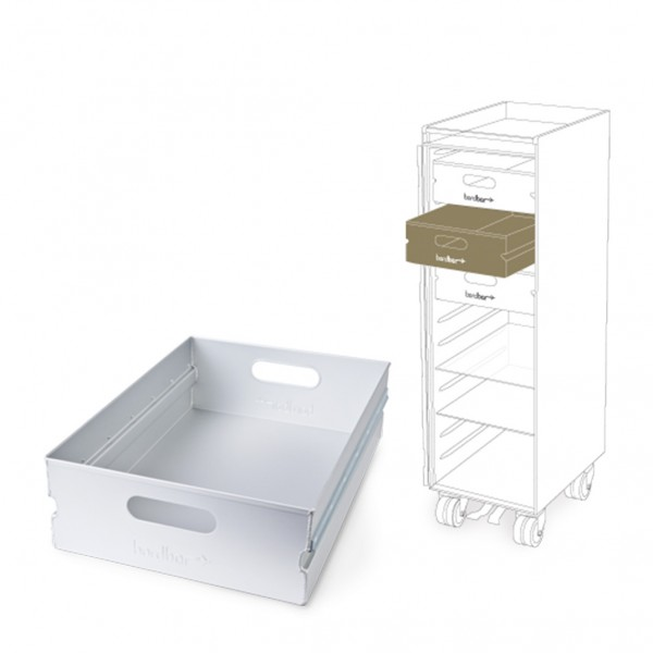 ATLAS Drawer Aluminium