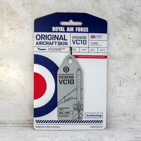 "Aviationtag Vickers VC-10 Royal Air Force - ""XV106"""