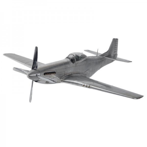 """Flugzeugmodell P-51 """"Mustang"""" (WWII)"""