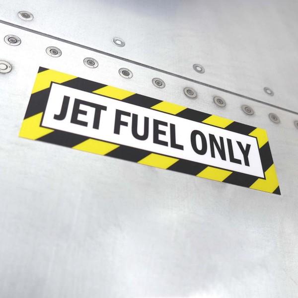 "Sticker ""Jet Fuel Only"""
