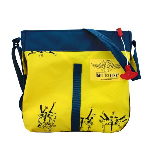 Classic Flyer Bag blue