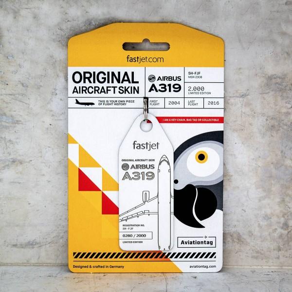 Aviationtag A319, FastJet