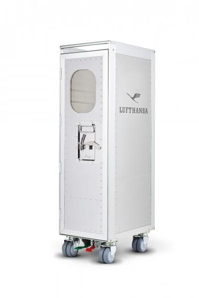 Trolley Lufthansa Retro White + Window