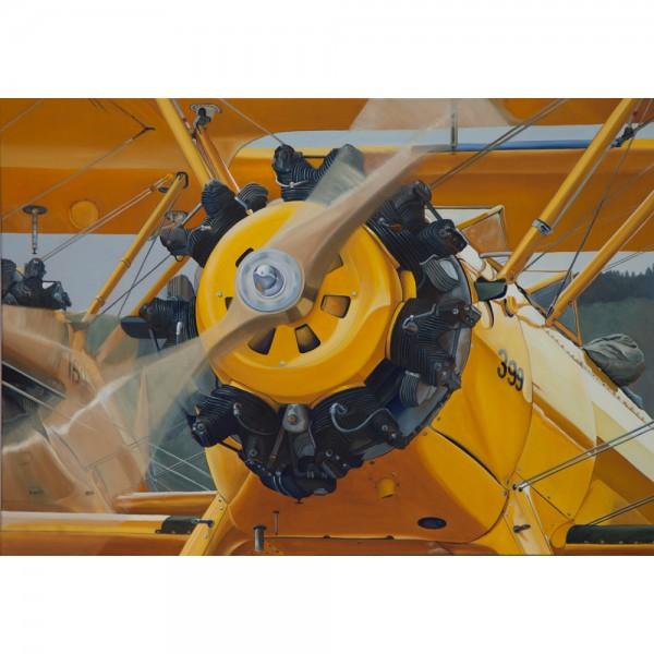 Yellow Peril, 100x70cm, Öl auf Leinwand