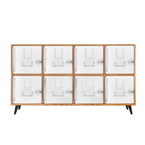 Standard Unit Sideboard Eiche 2x4