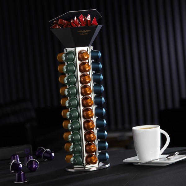 "Kaffeekapselspender ""Coffee Tower"""
