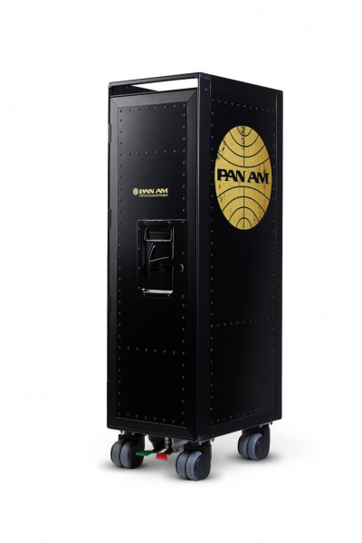 """Trolley PAN AM black/gold """"limited Edt."""""""