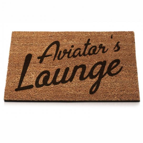 "Fußmatte ""Aviator's Lounge"""