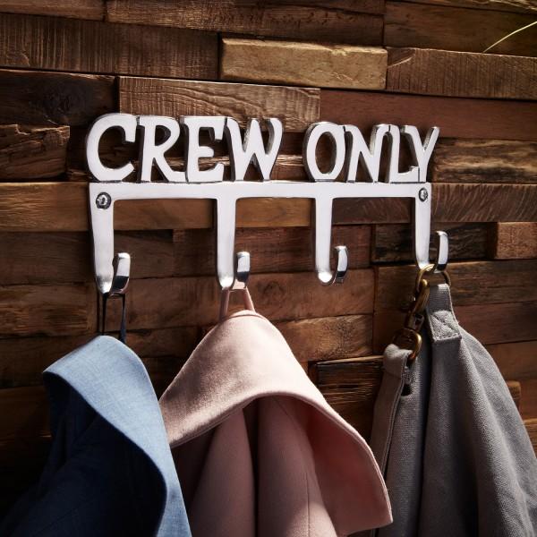 """Wandhaken/Garderobe """"Crew Only"""""""